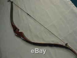 Rare Vintage 1963 Fred Bear Kodiak Magnum Dogleg 52 RH 55# Recurve Bow
