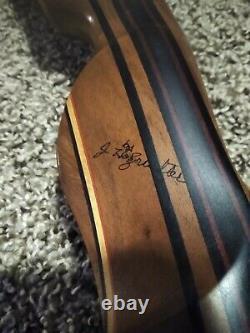 Recurve Bow Handmade Custom Made J. Holzrichter 60 45# RH