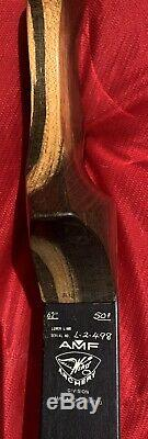 Recurve Bow T/D WING Presentation II 50#@ 28 62 with Rattlesnake Covered Limbs