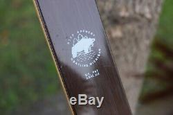 Refurbished Vintage Fred Bear Archery Grizzly Recurve Bow 58 45# RH Green