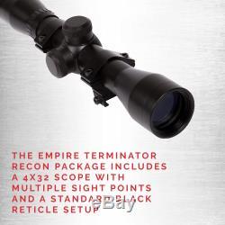 SA Sports Empire Terminator 613 Recurve Crossbow PKG 4x32 Scope, 260 FPS