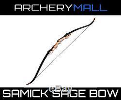 SAMICK Sage take down recurve bow 62choose RH/LH 20,30,35,40,45,50,55 lb