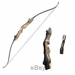 SAS Sage Premier 62 Takedown Recurve Bow with Stringer FF Compatible Archery