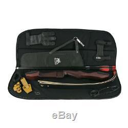 SET RAGIM Matrix Black 68 Zoll 18-36 lbs Recurve inkl. Tasche und Zubehör