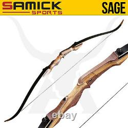 Samick Sage Recurve Bow 55LB Pound right hand take down recurve bow New