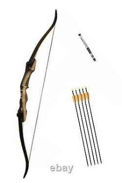 Samick Sage Take Down Recurve Bow. 62 Length 35lb Draw. RH. Brand New! Free P&P