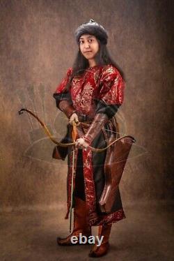 Scythian Bow Short Version Traditional Horse Bow Recurve Bow Turkish Bow