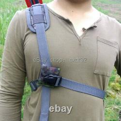 Tactical Nylon Arrow Quiver + Molle System Bag for Recurve/Compound bow Archery