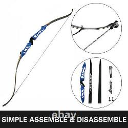 Takedown Recurve Bow Set 28LBS Archery Bow Arrow Adults Youth Shooting Practice