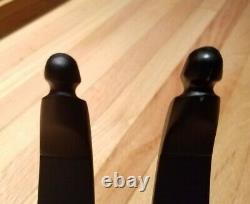 TradTech BlackMax Extreme Carbon ILF Recurve Limbs (Long, 45 Lb)