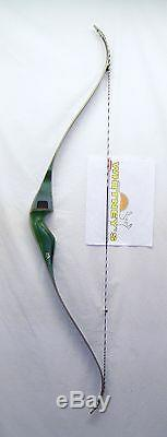 Traditional Bear Archery Kodiak Magnum Grayling Green Recurve Bow RH 45# 52