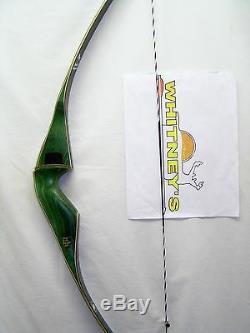 Traditional Bear Archery Kodiak Magnum Grayling Green Recurve Bow RH 45# 52