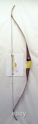 Traditional Fred Bear Archery Kodiak Satin Recurve Bow RH 40# 60 AK1440SR