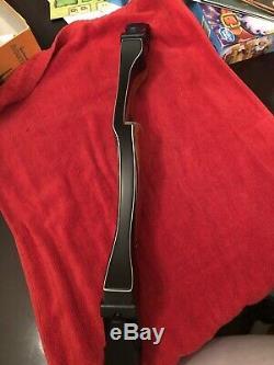 Used Bear Archery Kodiak Takedown B Riser RH Phenolic/Bubinga Beautiful