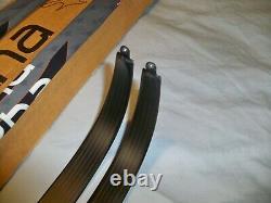 Uukha VX 1000 Xcurve Carbon Glass Lin Medium 40 lb Limbs Fits WinWin Hoyt &Other