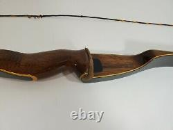 VINTAGE BROWNING WASP RH RECURVE BOW 50# AMO 56 HUNTING USA Made Powerful Bow