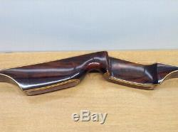 VINTAGE WOOD RECURVED BOW- Staghorn Archery Co. XP60 47#