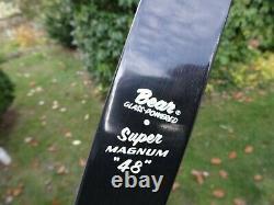 Vintage 1953 Bear Super Magnum 48 Recurve Bow