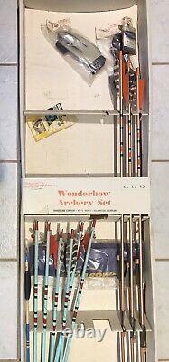 Vintage 1960s shakespeare wonderbow KX-19 Archery Set