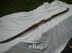 Vintage 1966 Bear Glass Powered Kodiak Right Handed Recurve Bow 60 40# Archery
