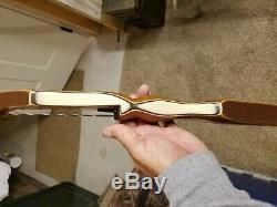 Vintage 1966 Bear Kodiak Recurve Left hand bow 60 49#