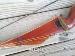 Vintage 1966 RH BEAR ARCHERY KODIAK Recurve Bow 60 #45 NICE Original