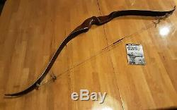 Vintage 1969 Browning Nomad Stalker Recurve Bow with Booklet Right hand 46# 52