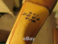 Vintage'55 Bear Archery Kodiak Recurve Bow, Bear Autograph, 41#@28,60, #DD46