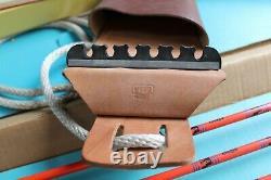 Vintage BEAR ARCHERY BOWHUNTING OUTFIT BEAR CUB 37# 60 RECURVE BOW W BOX RARE