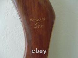 Vintage BEAR Archery Glass Powered KODIAK SPECIAL Recurve BOW RH 28# 69