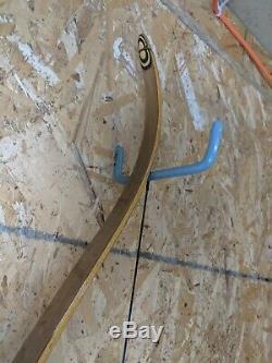 Vintage Bear Archery 1954 Compass KODIAK II WALNUT RISER 60# 60 Recurve Bow
