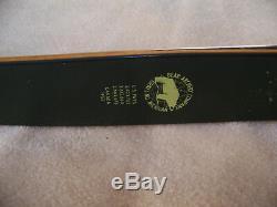 Vintage Bear Archery 1962 Kodiak Recurve Bow