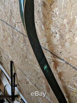 Vintage Bear Archery 1974 KODIAK HUNTER 35X# 60 Recurve Bow BEAUTY