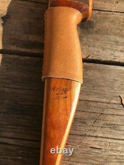 Vintage Bear Archery Glass Powered Alaskan Semi Recurve Bow 51#
