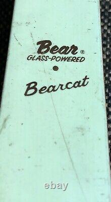 Vintage Bear Archery Glass Powered BearCat Recurve Bow RARE With Spool String