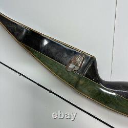 Vintage Bear Archery Glass Powered Grizzly Recurve Bow AMO 58 45#