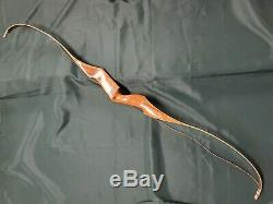 Vintage Bear Archery KODIAK DOGLEG 50# 60 Recurve Bow