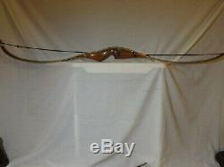 Vintage Bear Archery Kodiak Hunter Recurve Bow RH 48# Excellent