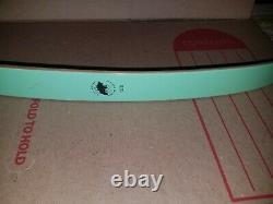 Vintage Bear Glass Powered Recurve Bow RH Black Bear