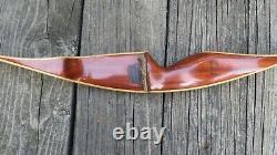 Vintage Bear Glass Powered Tigercat Recurve Bow 43# RH