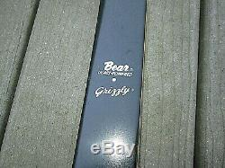 Vintage Bear Grizzly recurve bow 50#