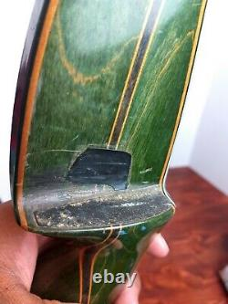 Vintage Bear Kodiak Hunter Recurve Bow, KT79583 AMO 60 45#, Nice! Left Hand
