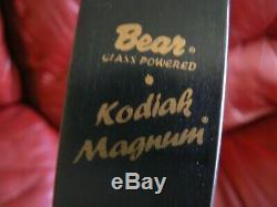 Vintage Bear Kodiak Magnum Recurve Bow 52, 65 LBs RH No String