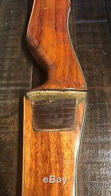 Vintage Bear Kodiak Recurve Bow 22CH164, 60- 35#
