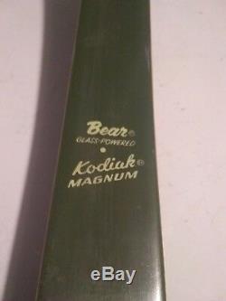 Vintage Bear Magnum Recurve Bow 52 #40