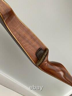 Vintage Bear Tigercat Recurve Bow White Tips 36# Pound Pull Archery 62