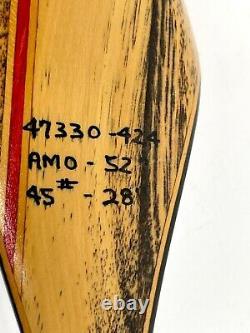 Vintage Ben Pearson 52 Buckmaster Recurve Archery Bow 7452