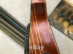 Vintage Ben Pearson Model Bp-h90 Recurve Bow Some Arrows Broadheads With Blade