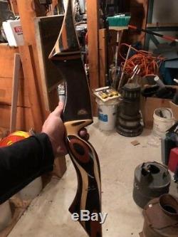Vintage Ben Pearson Pinto Recurve Bow 714-70 14-9 Xx30#-28