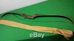 Vintage Ben Pearson RENEGADE 7260 Recurve Bow 9743-424 Amo-60, 35# 28